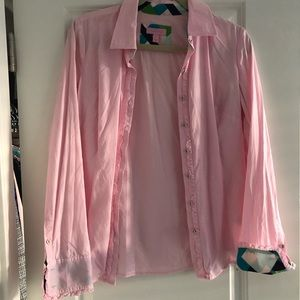 Lily Pulitzer button down shirt